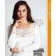 ART.D9I44 вълнена блуза с дълъг ръкав