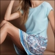 Riad Paisley Dress 02 плажна рокля